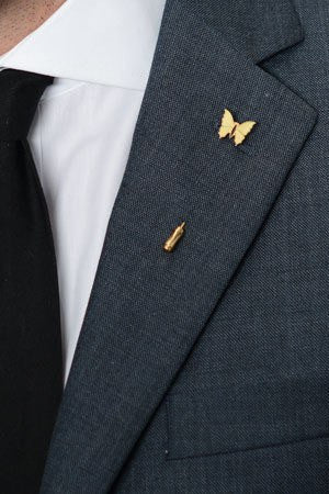Swallow Lapel Pin – Hugh & Crye - 1