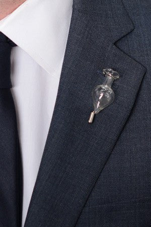 Vase Lapel Pin – Hugh & Crye