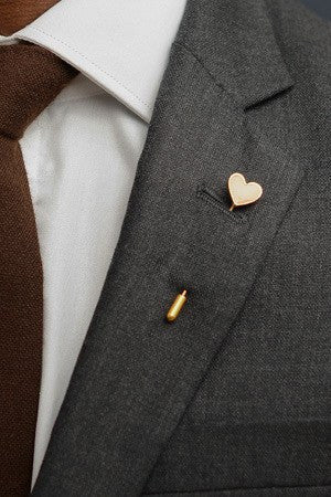 Heart Lapel Pin – Hugh & Crye