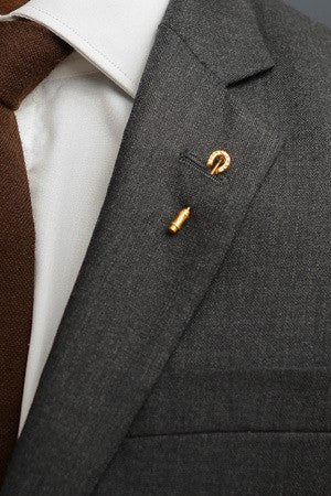 Horseshoe Lapel Pin – Hugh & Crye