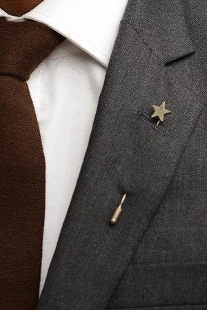 Silver Star Lapel Pin – Hugh & Crye