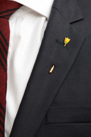 Tulip Lapel Pin – Hugh & Crye
