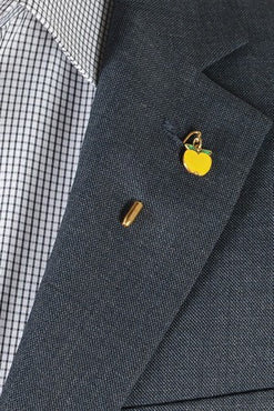 Apple Lapel Pin – Hugh & Crye
