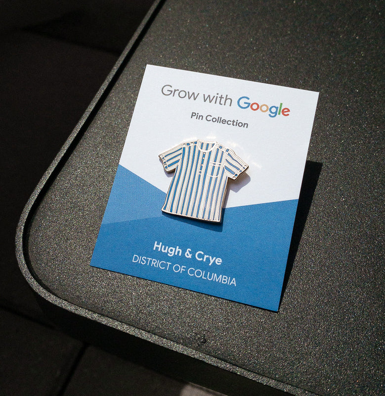 Hugh & Crye + Google - Limited Edition Pin