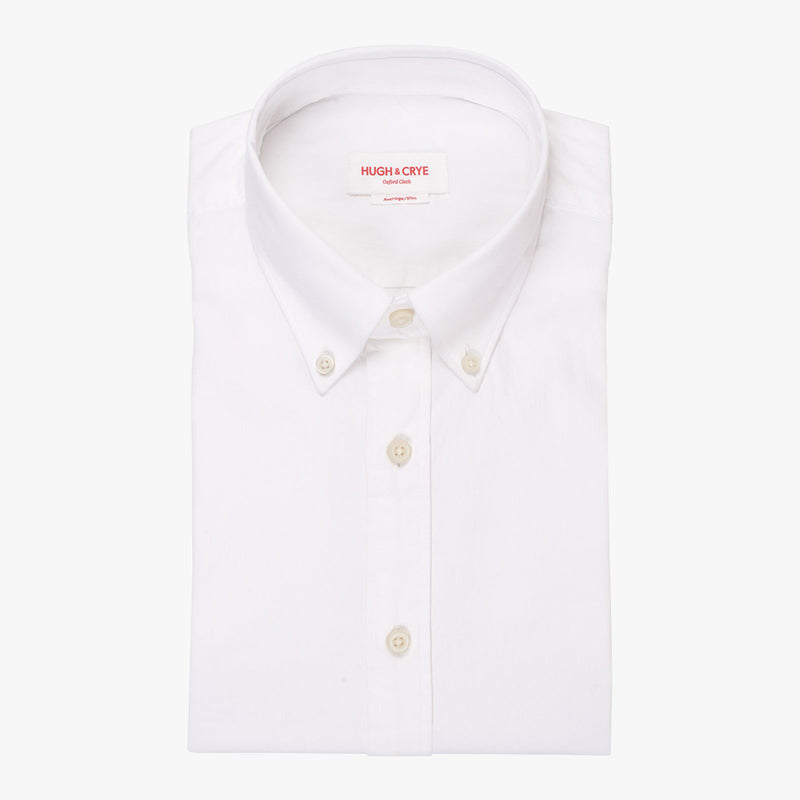 Silo White Oxford Button-Down Shirt