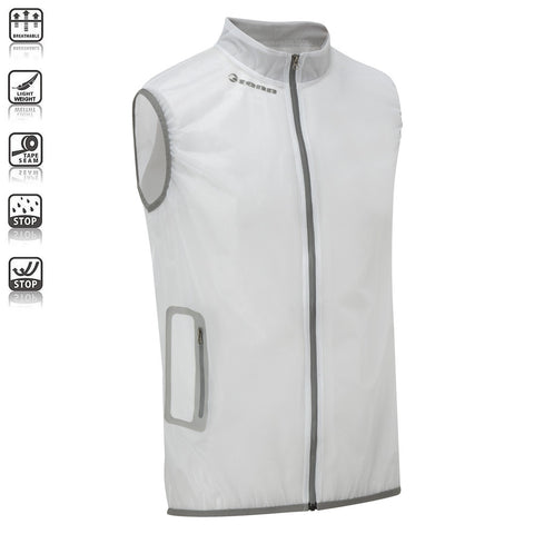 Unisex Crystalline Wind/Waterproof Gilet