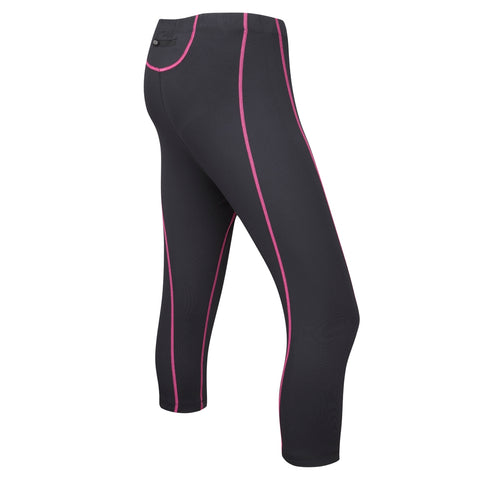 Ladies Velocity 3/4 Length Unpadded Tights