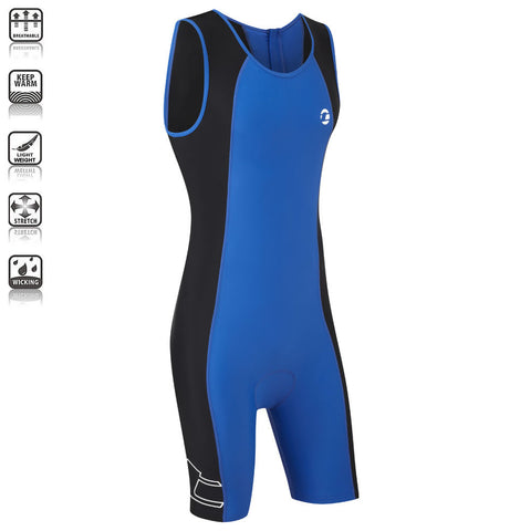 Mens Padded Triathlon Suit