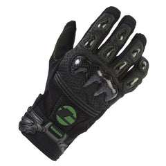 Unisex Leather & Carbon MTB Gloves