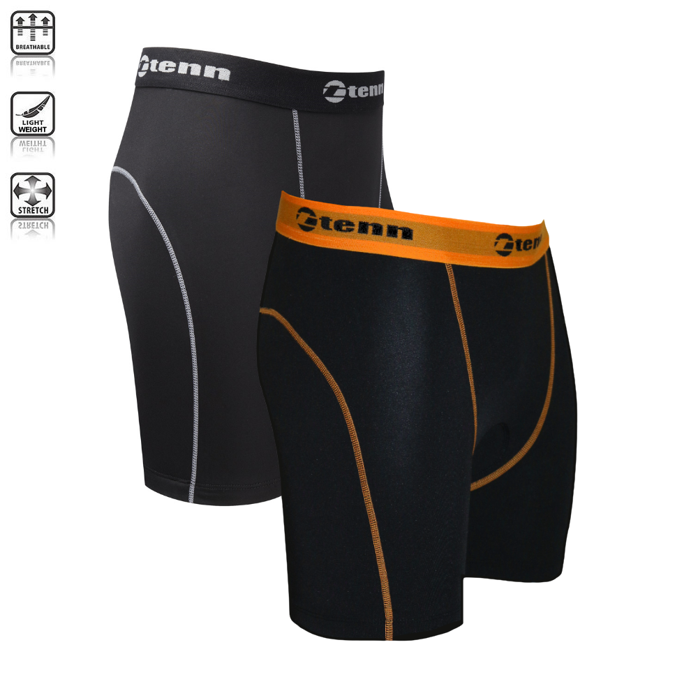 Mens Coolflo Padded Boxers/Undershorts