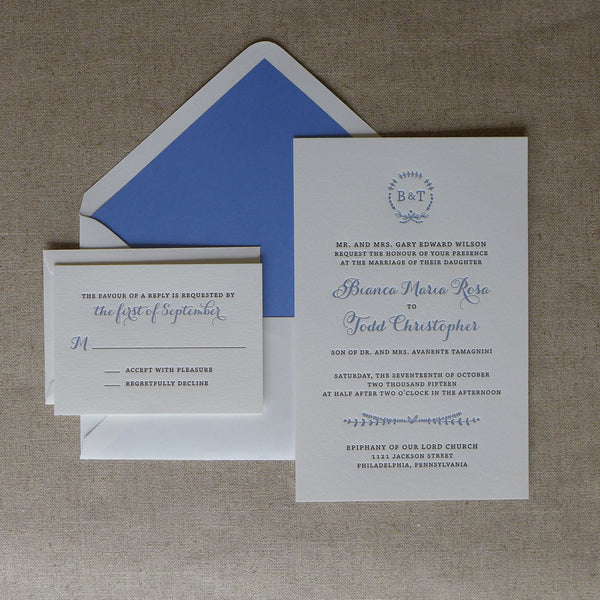 Bianca - Wedding Invitation