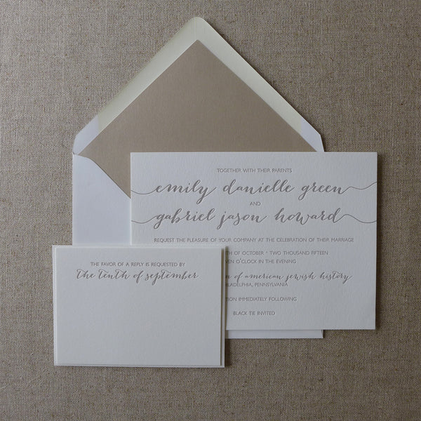 Emily - Wedding Invitation