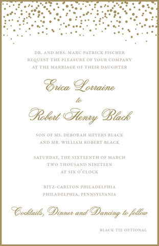 Erica - Wedding Invitation