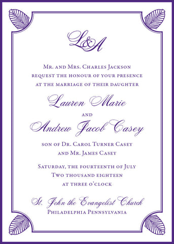 Tracy - Wedding Invitation