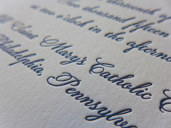 Kathryn - Wedding Invitation