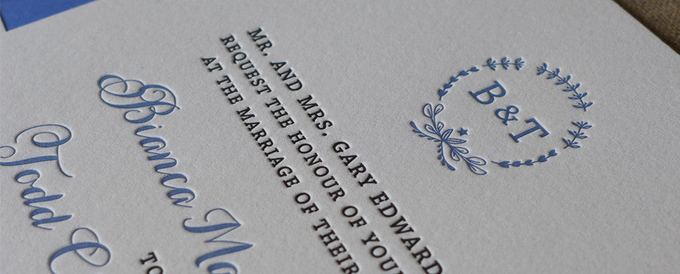 Bianca - Wedding Invitation Suite
