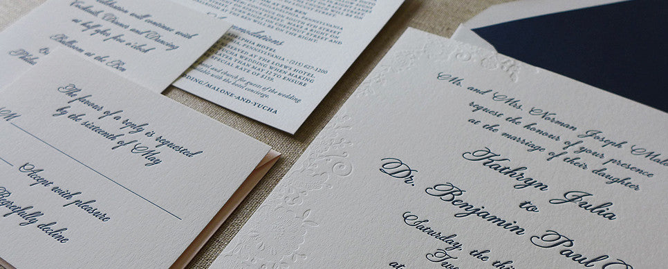Kathryn - Wedding Invitation Suite