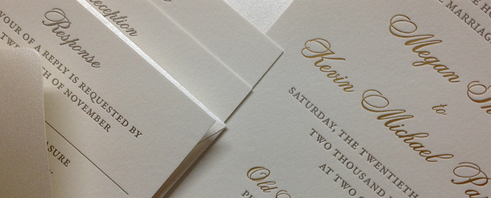 Megan - Wedding Invitation Suite