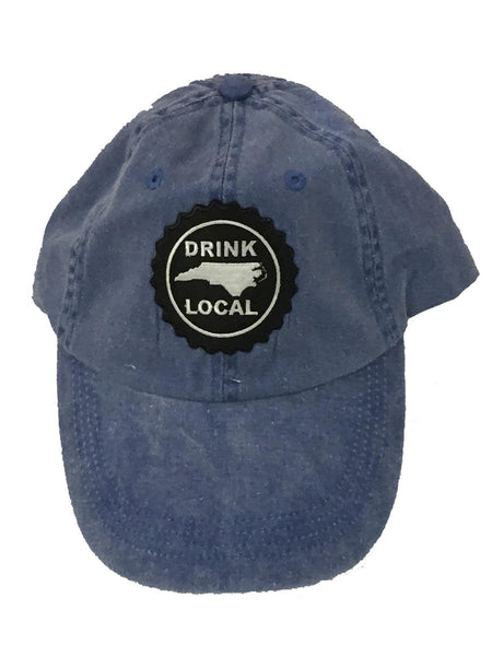 North Carolina Drink Local Hat - Distressed Baseball Cap