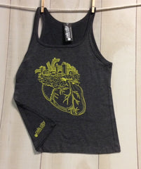 North Carolina NC Where the Heart Is Women's Tank