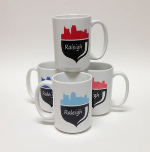 G. Acorn Mugs, Raleigh North Carolina NC