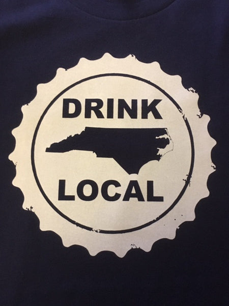 North Carolina NC Men's Bottle Cap Shirt