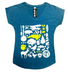 North Carolina NC Ladies Shirt