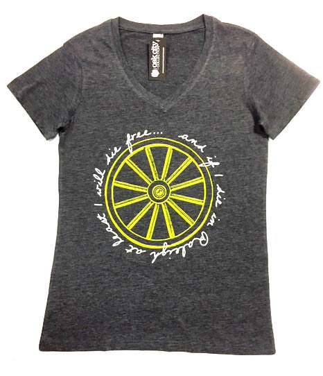 Wagon Wheel Lyrics Women's Shirt