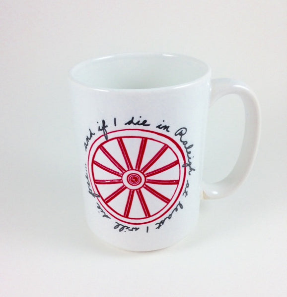 North Carolina NC Wagon Wheel Song Mug