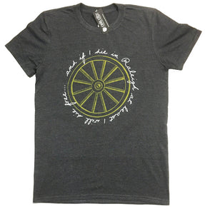 Wagon Wheel Lyrics Men's Shirt