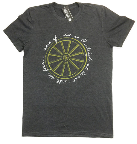 A. North Carolina NC Wagon Wheel Shirt