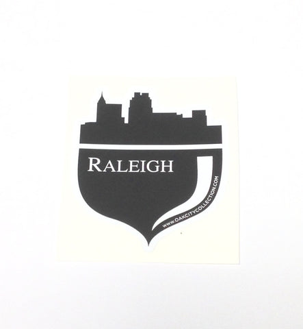 North Carolina NC Oak City Raleigh Die Cut Sticker