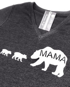 A. Custom Mama Bear and Cubs