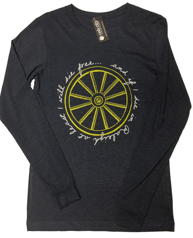 Wagon Wheel Lyrics Long Sleeve Shirt