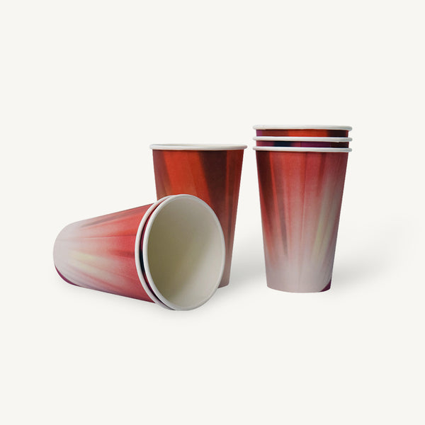 Paper Cups Prism Tall 9oz