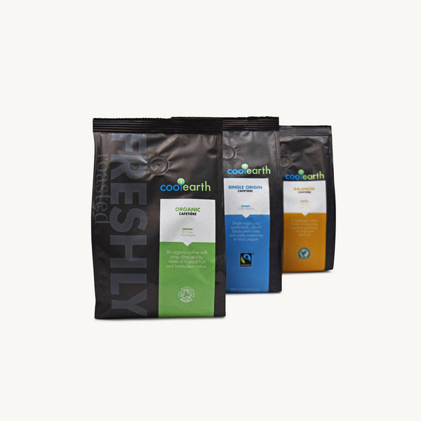 Cool Earth Cafetiere Sample Pack