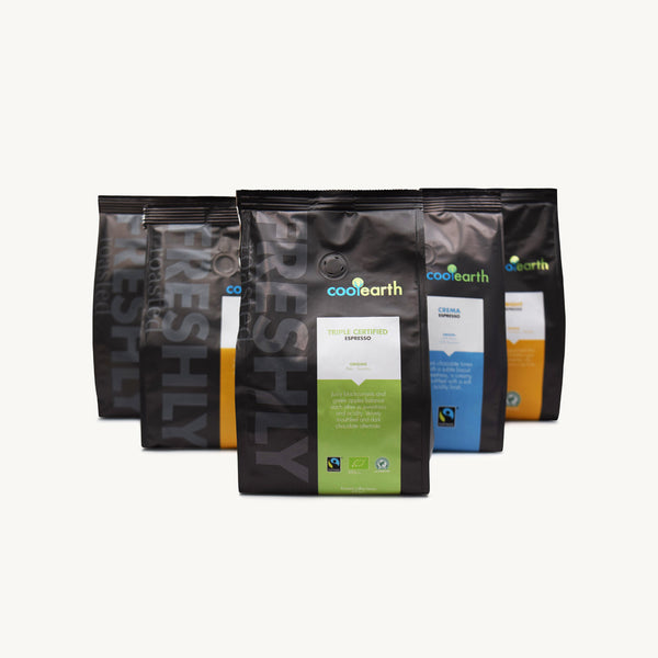 Cool Earth Complete Espresso & Cafetiere Sample Pack
