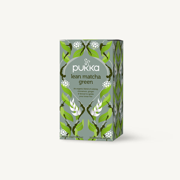 NEW - Pukka Lean Matcha Green