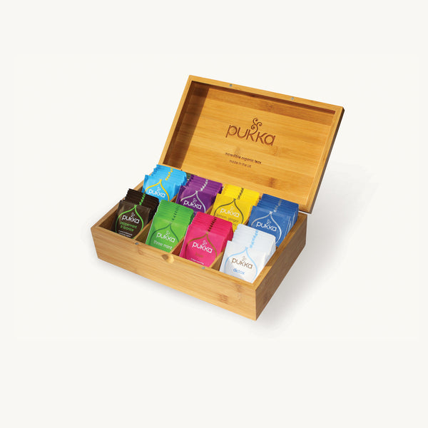 Pukka Organic Bamboo Tea Chest
