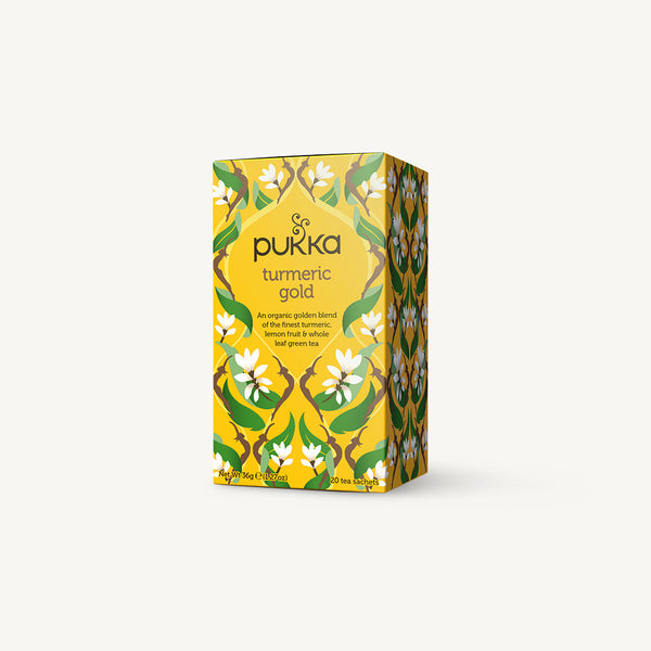 Pukka Turmeric Gold Envelopes
