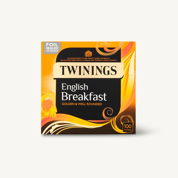 Twinings English Breakfast 100's Tea Bags