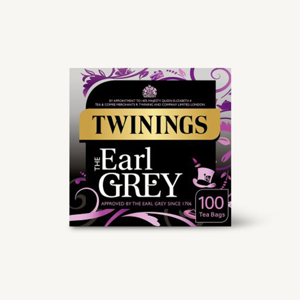 Twinings Earl Grey Teabag 100's Tea Bags