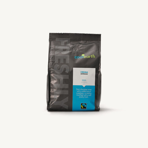 Cool Earth Crema (Fairtrade) Espresso Coffee Beans