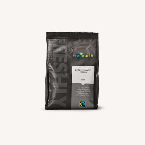 Cool Earth Decaf Espresso (Fairtrade) Coffee Beans
