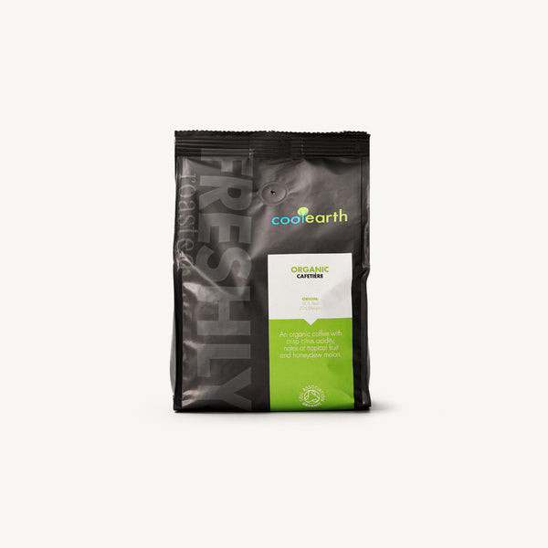 Cool Earth Organic Cafetiere Coffee