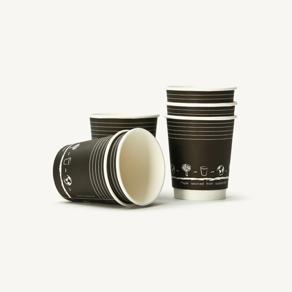 Double Wall Paper Cups 8oz