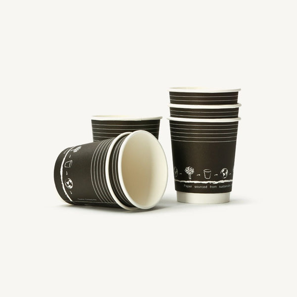Double Wall Paper Cups 12oz