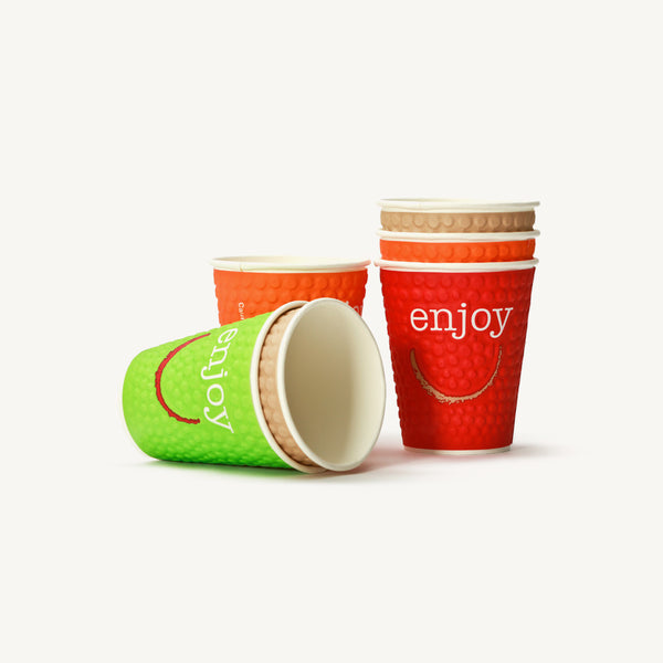 Enjoy Paper Cups 8oz