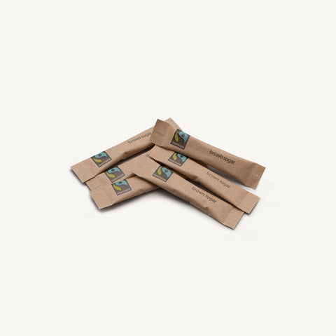 Brown (Fairtrade) Sugar Sticks