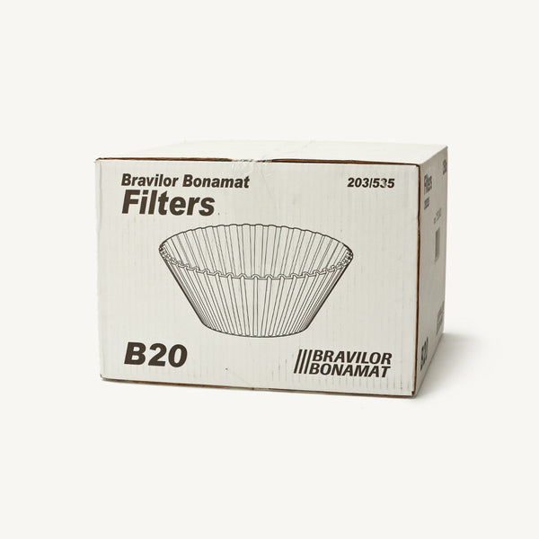 Filter Papers for Bulk Brew 20 litre Pack 250